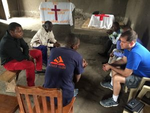 visiting with pastors