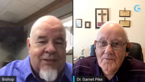Dr. Pike and Bishop Tony Miller